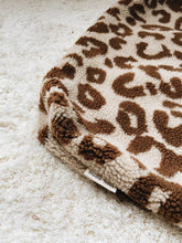Load image into Gallery viewer, Studio Noos Stroller Bag- chunky teddy leopard