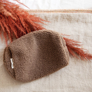 Studio Noos Pouch- chunky teddy brown