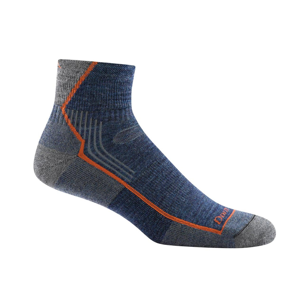 Darn Tough Hiker 1/4 Cushion Men's Sock - Denim