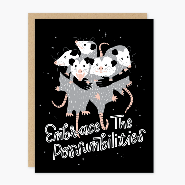 Embrace the Possumbilities Card - PO4