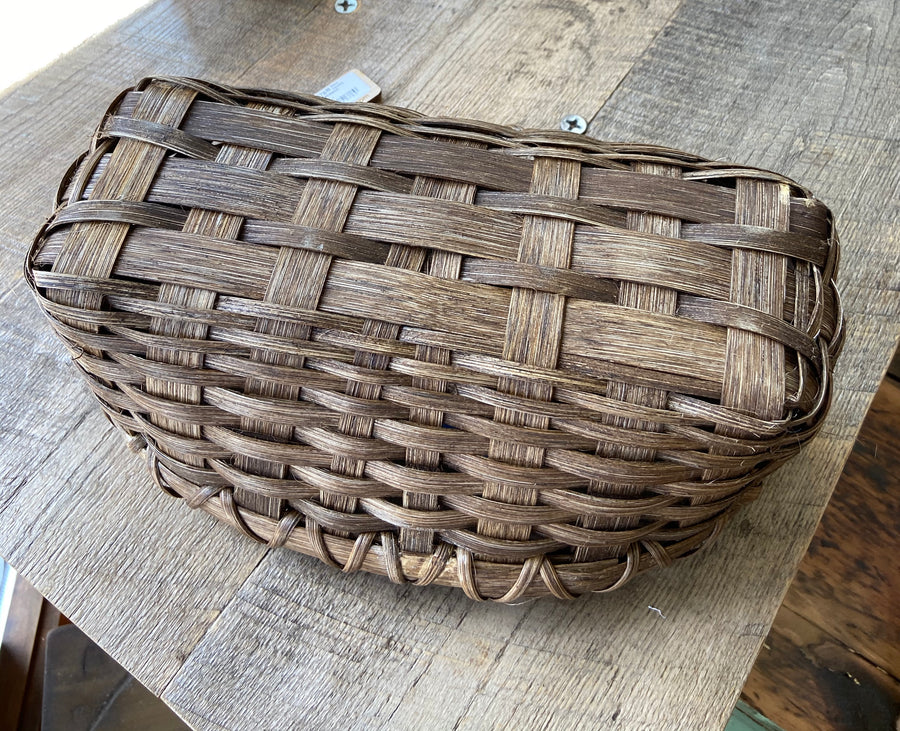Hand Woven Bread Basket Common Deer
