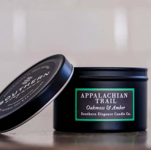 Appalachian Trail: Oakmoss & Amber Candle Travel Tin