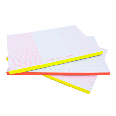 Three Way Perforated Notepad