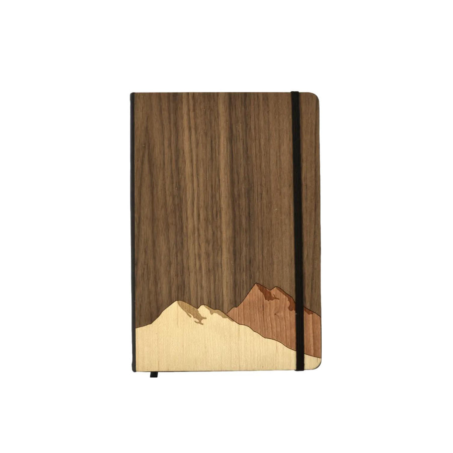 Wooden Mountains Notebook