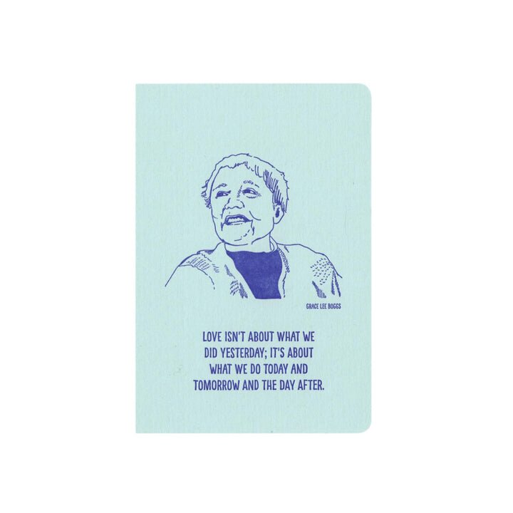 Inspiring Women Notebook - Grace Lee Boggs