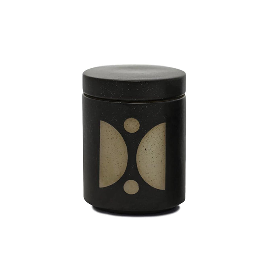 Abstract Shapes Planter Candle - Palo Santo & Suede
