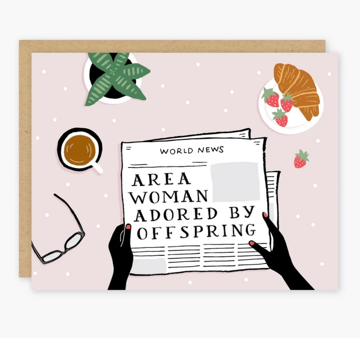 Area Mom Headline Card - PO7