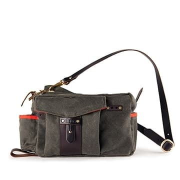 Essex Side Fishermen's Bag - Olive