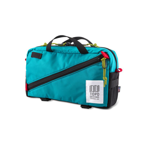 Topo Designs Quick Pack - Turquoise/Black