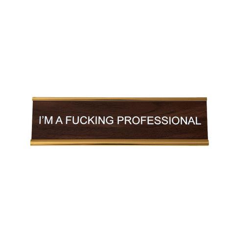 Professional Name Plate