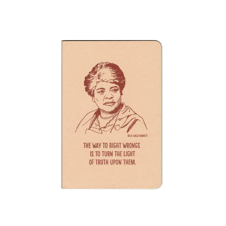 Inspiring Women Notebook - Ida B Wells