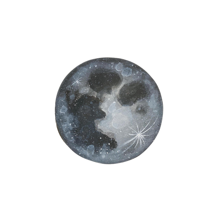 Hannah Sachse Hand Painted Moon 6""