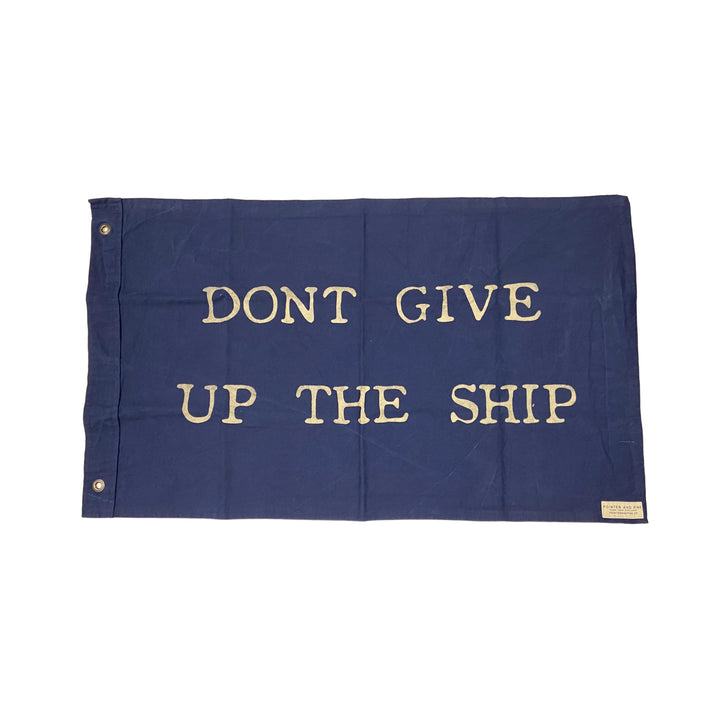 Don't Give Up the Ship Blue Flag