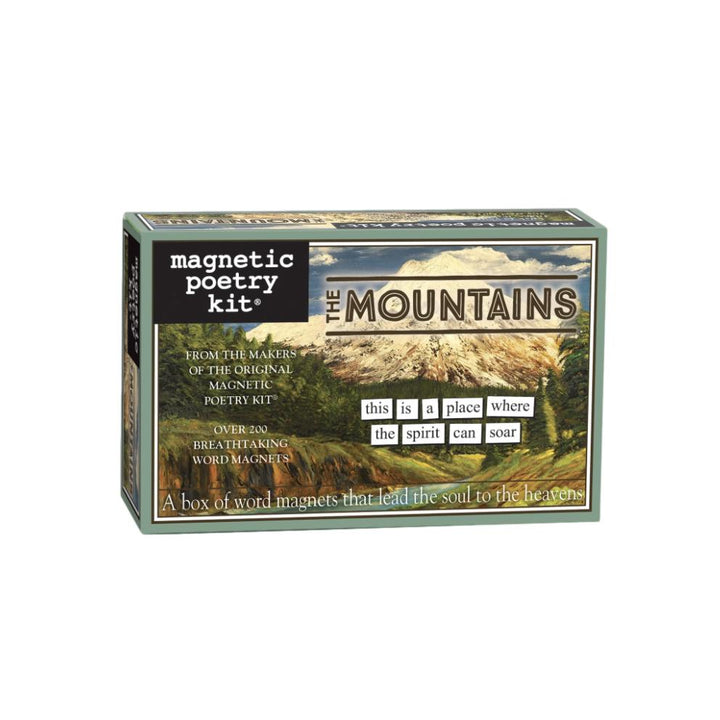 Magnetic Poetry Kit - The Mountains