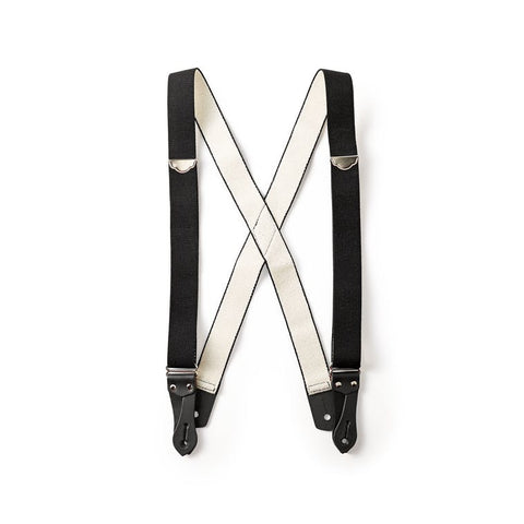 Filson Tab Suspenders in Black