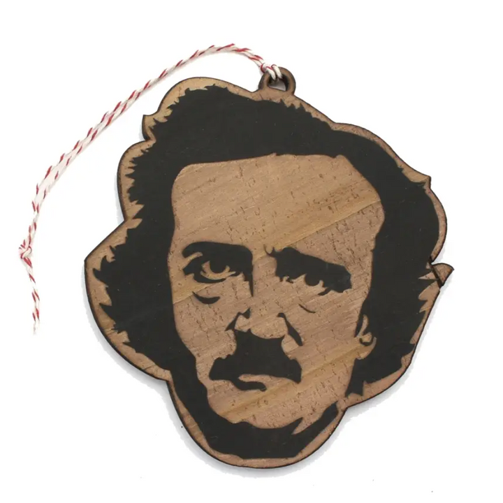 Famous Face Ornament - Edgar Allen Poe