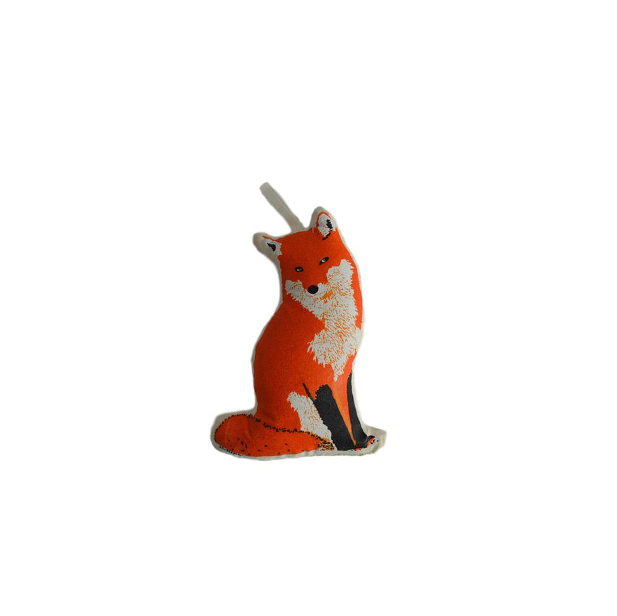 Plush Fox Ornament