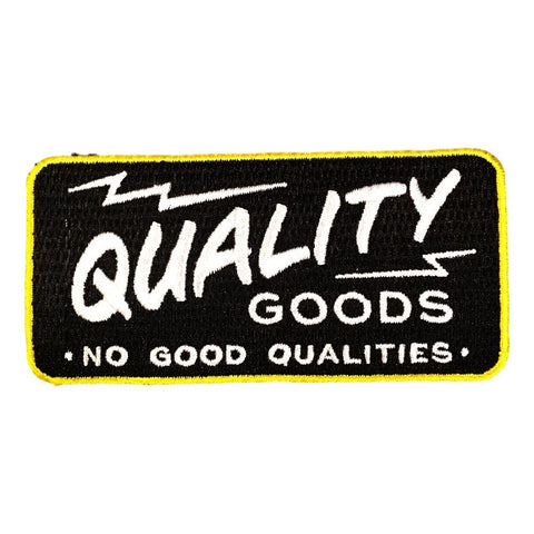 Quality over Quantity over Quality Patch