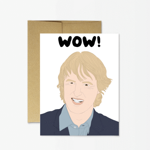 Owen Wilson Wow Card - PM1