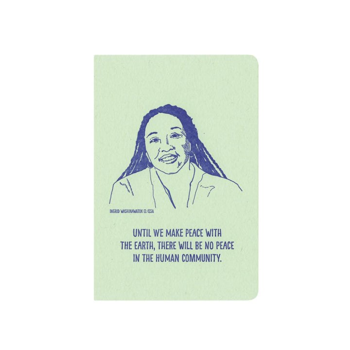 Inspiring Women Notebook - Ingrid Washinawatok El-Issa
