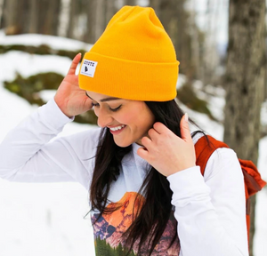 Coyote Provisions Standard Beanie Yellow