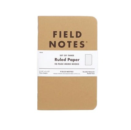 Field Notes Original Ruled 3 Pack