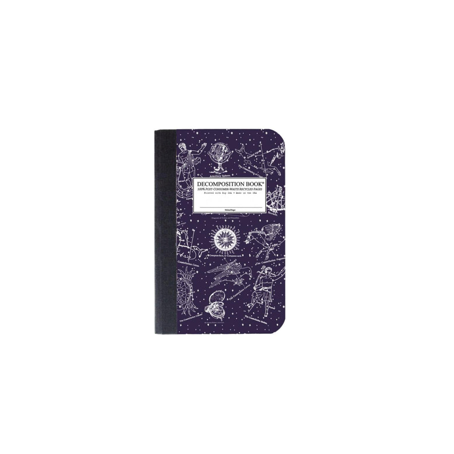 Pocket Decomposition Book - Celestial Lined