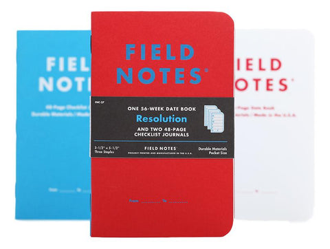 Resolution Note Book Pack