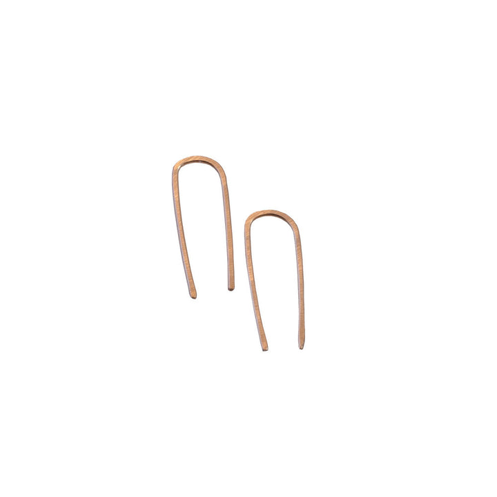 Long Staple Threader Earrings
