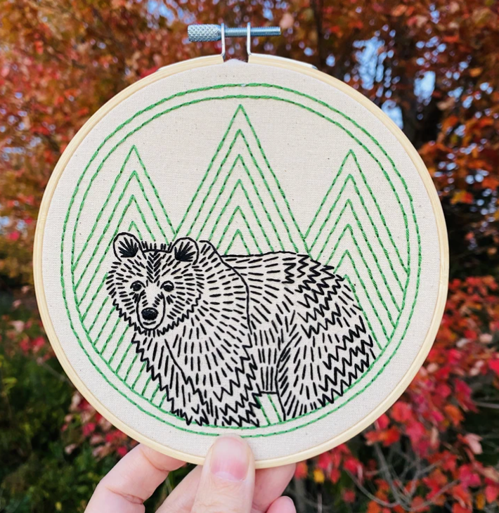 Bear With Me Complete Embroidery Kit