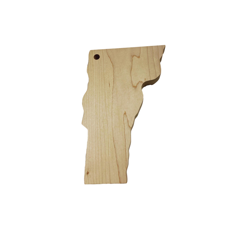 Small Vermont Shaped Cutting Board - 8in