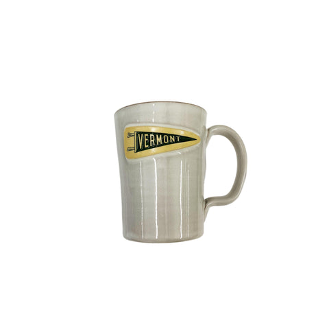 Common Deer Pennant Mug - White