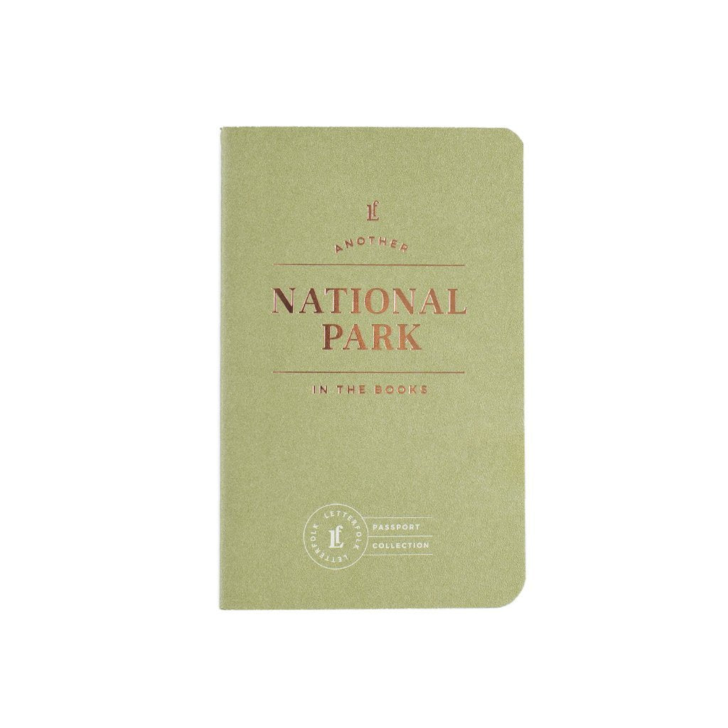 National Parks Passport Book