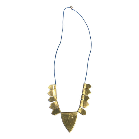 Gather Brass Necklace