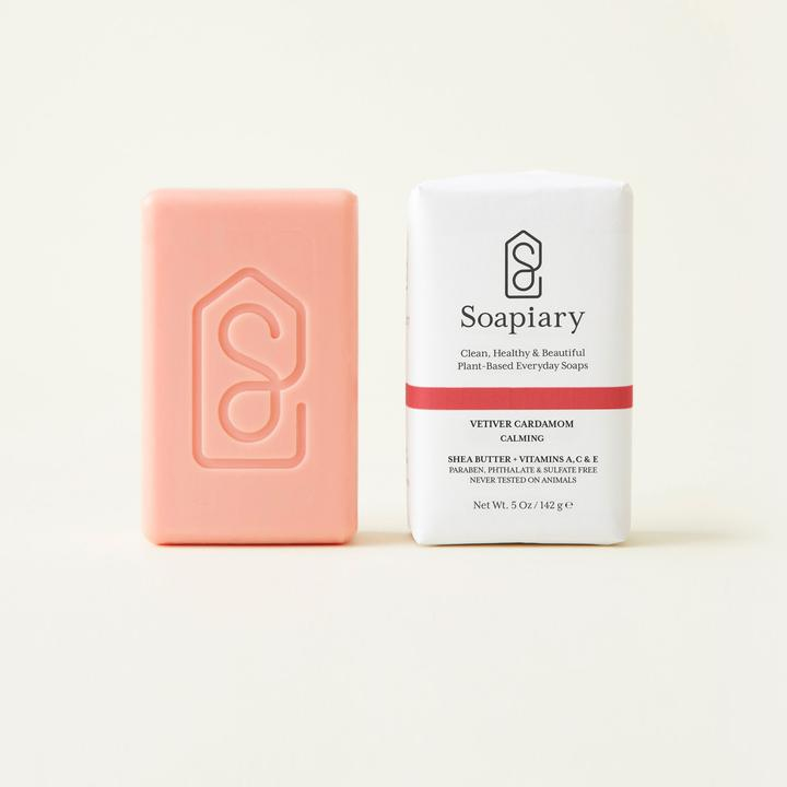 Soapiary Bar Soap Vetiver Cardomom