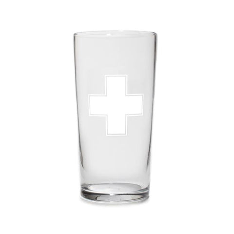 Izola Apothecary Cross Pint Glass