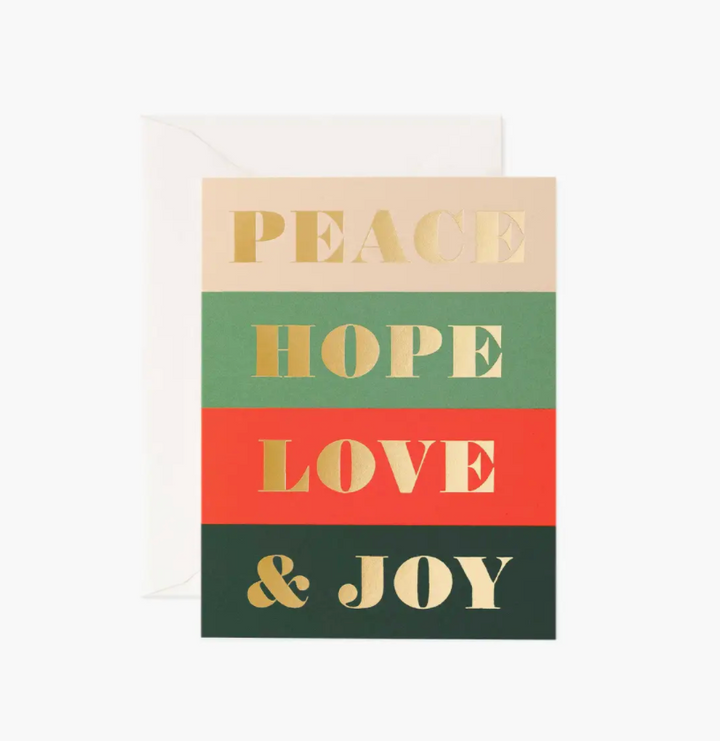 Peace & Joy Boxed Set of 8 Cards