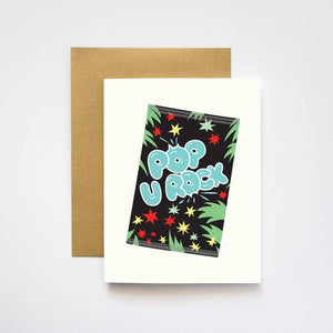Pop u Rock Pop Rocks Card - IL2