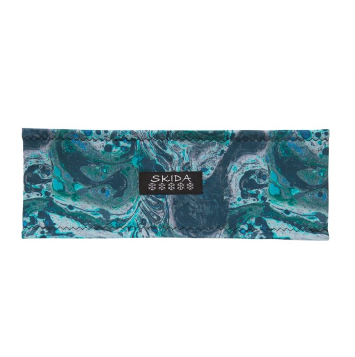 SKIDA Alpine Fleece-Lined Headband - Tide Pool