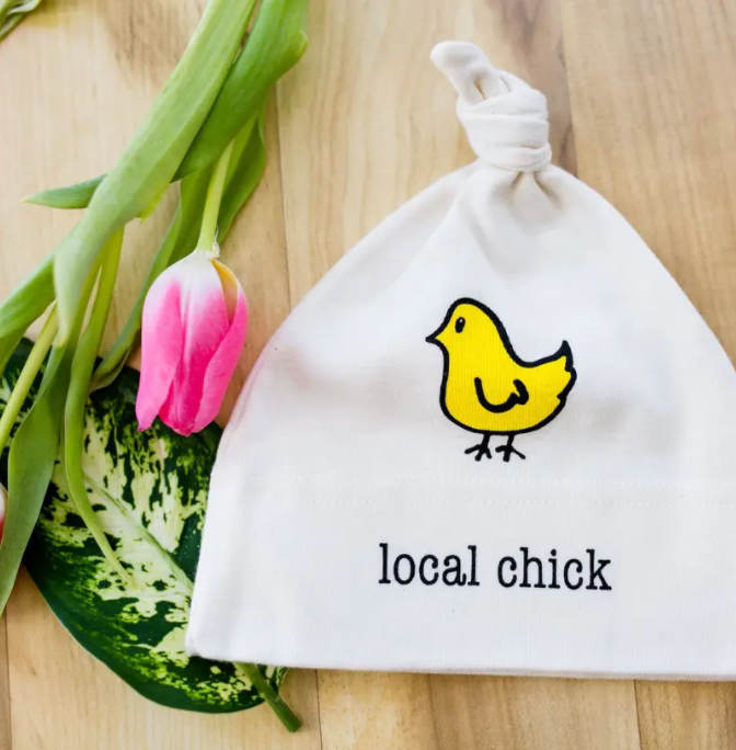 Local Chick Organic Cotton Baby Hat