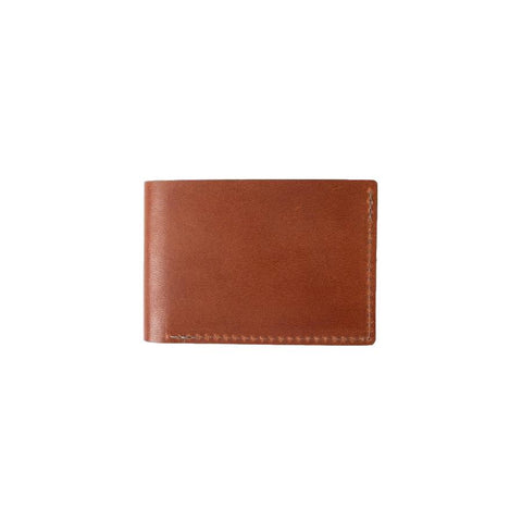 Leather Minimal Bi-Fold Wallet