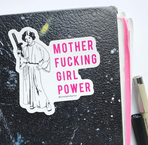 MF Girl Power Sticker