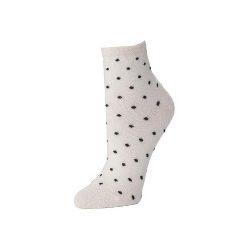 Women's Polka Dot Ankle Sock