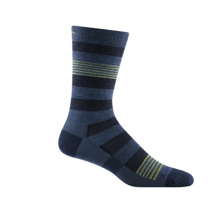 Men's Merino Wool Oxford Lightweight Sock Denim