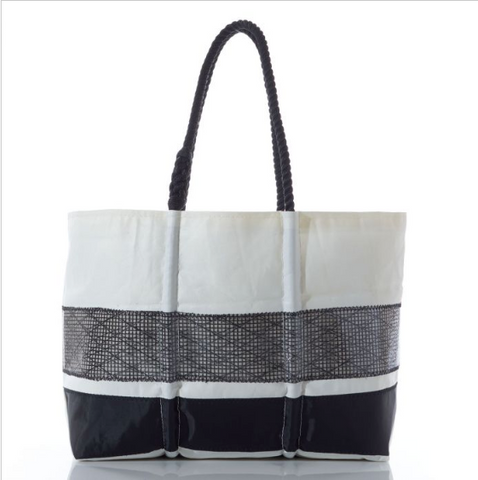 Black High Performance Sale Stripe Tote