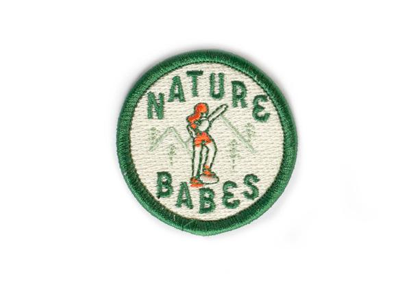 Nature Babes Sticky Embroidered Patch