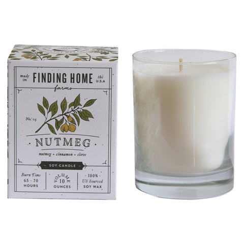 Nutmeg 10 oz Candle