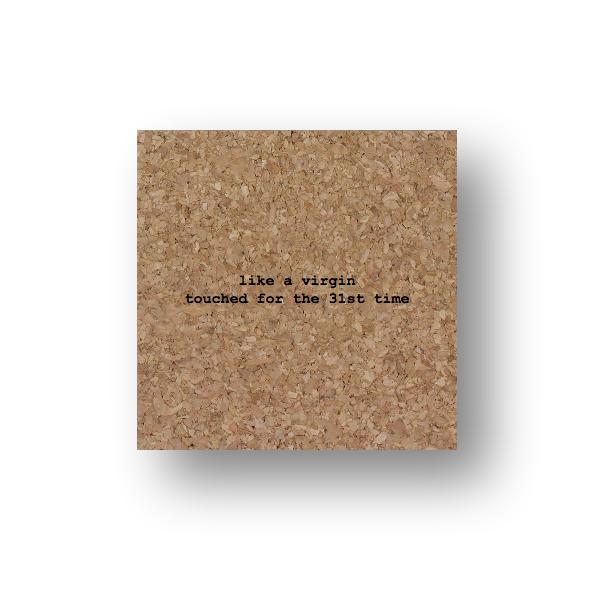 Mistaken Lyric Coaster - Singles
