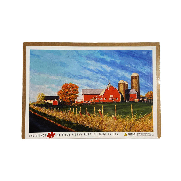Monkton Farm Vermont-Made Puzzle - 345 Piece