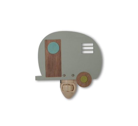 Wooden Camper Nightlight